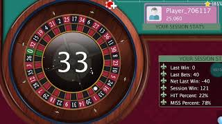 2 LINE SYSTEM  Roulette WIN tricks casino games roulette table.
