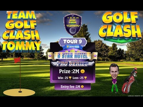 Golf Clash tips, Hole 1 - Par 3, Milano - Tour 9 - 6 Star Hotel, GUIDE/TUTORIAL