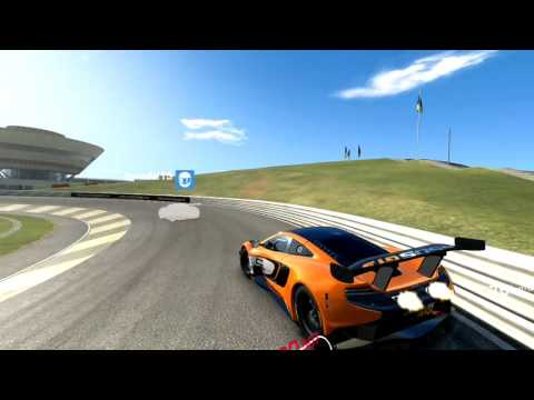 Real Racing 3 McLaren 650S GT3 Circuito Di Prova Porsche