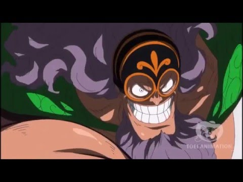 Sabo vs Jesus Burgess Battle 2 - One Piece 730 HD
