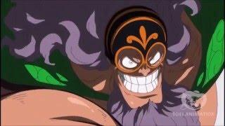 Sabo vs Jesus Burgess Battle 2 - One Piece 730 HD