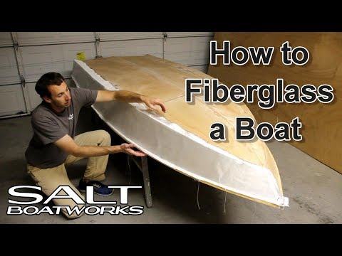 How to Fiberglass a Boat - How to Build a Boat Part 7