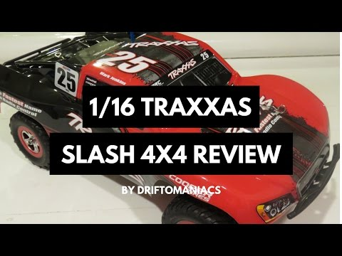 1/16th Slash 4x4 Review - Brushless Ready Mark Jenkins Edition