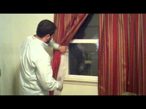 2011.11.06 - how to install curtain holdbacks - youtube