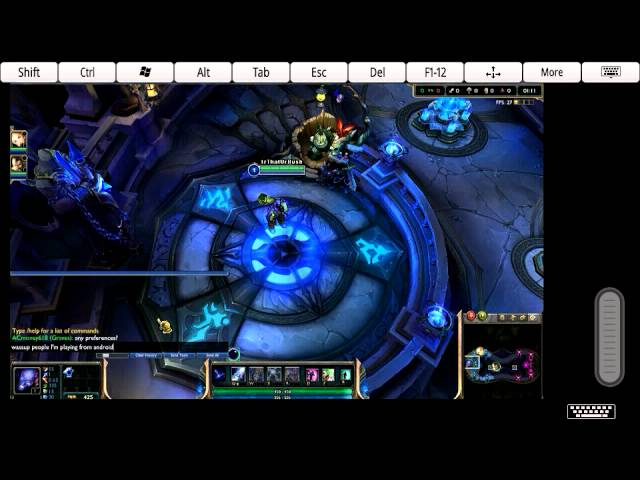 Play League Of Legends On Android Phone Youtube