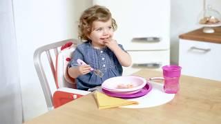 Подарочный набор посуды Chicco Meal Set 12м+