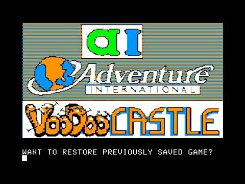 SAGA 4: Voodoo Castle walkthrough (Apple II - Adventure International)