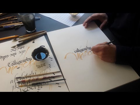 Journey of left hand calligraphy with Klahr