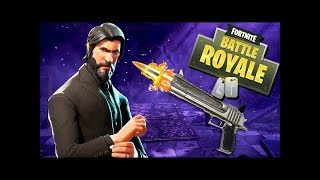 Fortnite Battle Royale: Road to John Wick with Week 8 Battle Pass Challenges!