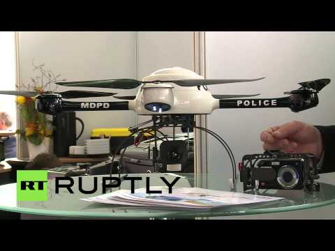 Germany: All eyes on surveillance drones at European police congress
