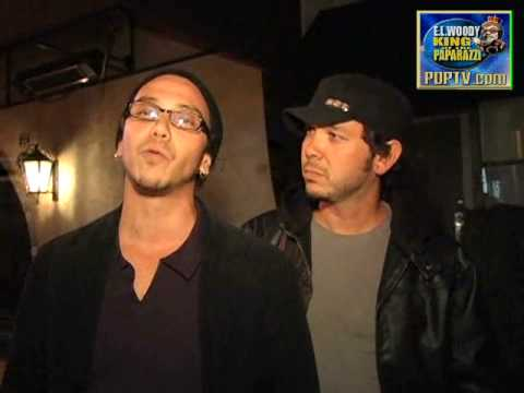 PopTV Paparazzi-Judd Nelson with the Ronalds Brothers (Brian & Dean)