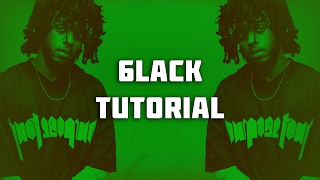 how to make a 6lack type beat 6lack tutorial