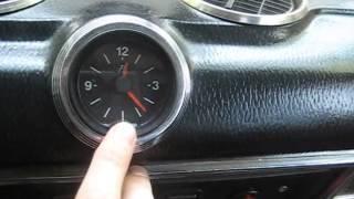 видео Часы VST-7042v взамен стоковым...