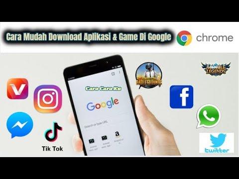 Cara Download Aplikasi APK Di Google Chrome Di HP Android