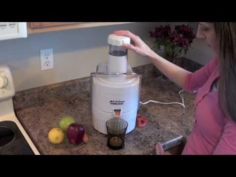 Jack LaLanne Juicer - Review Of Jack's Power Juicer