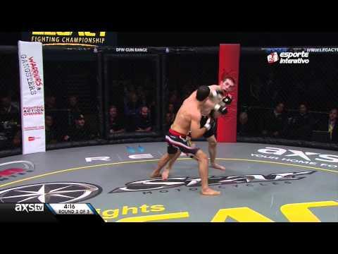 Augusto Tanquinho derrota Evan Martinez por nocaute técnico no Legacy 38