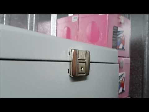 Metal Filing Box Locking