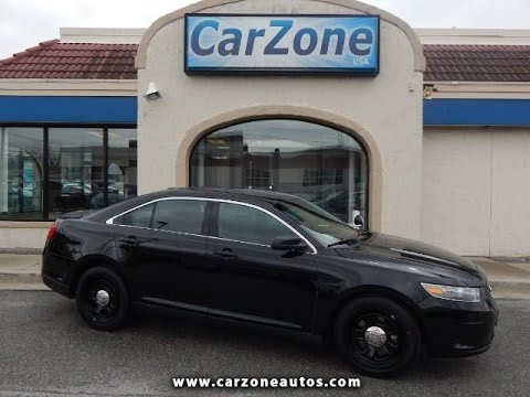 2013 ford taurus police interceptor for sale baltimore md carzone usa youtube. Black Bedroom Furniture Sets. Home Design Ideas