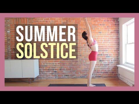 Summer Solstice Vibrant Yoga Flow {35 min}