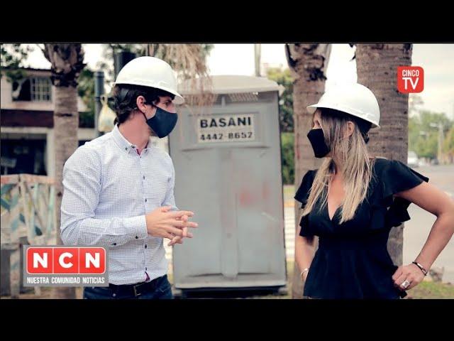 CINCO TV - Malena Galmarini y Juan Andreotti recorrrieron una obra cloacal en San Fernando