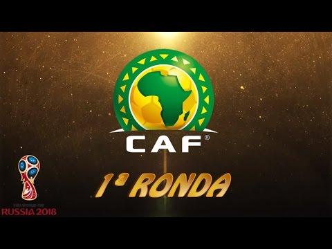 CAF (África), 1ª ronda - Clasificación FIFA World Cup™ 2018