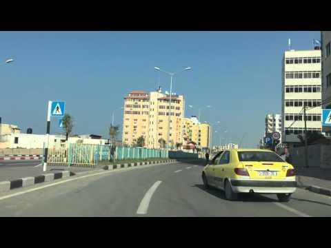 جولة في مدينة غزة 2015/12/22