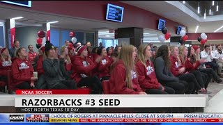 Razorback Soccer Earns 3 seed in NCAA Tournament