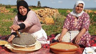 الزميطة المغربية القديمة مع لالة فتيحة و لالة حادة