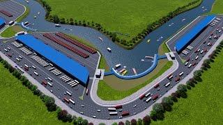 Dhaka City Bus, Interdistrict Bus &  City Launch Terminal