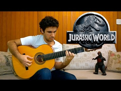 Jurassic World / Jurassic Park theme song - Fingerstyle Guitar (Marcos Kaiser) #43