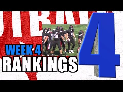 WEEK 4 Colorado High School Football Rankings - CHSAA - FOOTBALL AMERICA