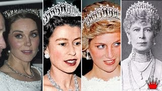 How Royals Recycle Tiara As Kate And Camilla Both Wear Historic Tiaras To Glittering Palace Dinner