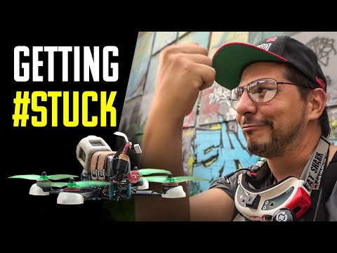 GETTING #STUCK with DRONE ? RECOVERY ACTION ! - SUB EN ( Frank Citro )