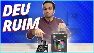 DEU RUIM NO VIDEO !! - AIR COOLER VS WATERCOOLER