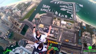 Dream Walker -My jump from Princess Tower in Dubai  18.04.2015 Maciej