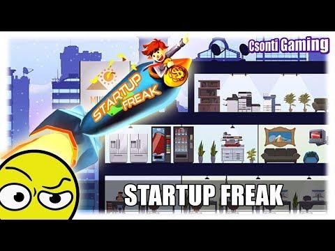 STARTUP FREAK | Vállalkozás szimulátor (Első látásra)