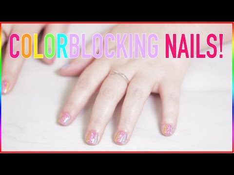 ✭✭Colorblocking NAIL Design✭✭