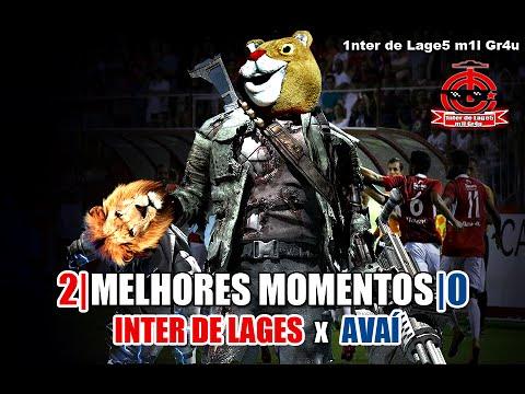 Inter de Lages 2x0 Avaí - 24/04/2016 - Melhores Momentos Narração Mil Grau