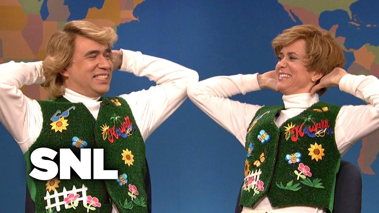 Weekend Update: Garth and Kat Sing Summer Vacation Songs - SNL