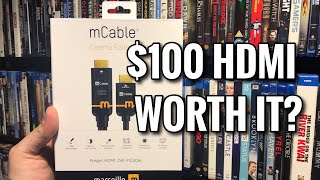 Can This $100 HDMI Cable Really Upscale HD to 4K? | mCable Cinema Review