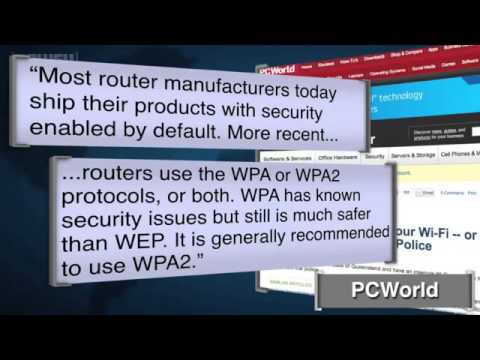 Australian Police Cruise Streets for Unprotected Wifi