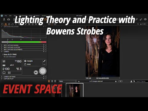 Lighting Theory and Practice with Bowens Strobes