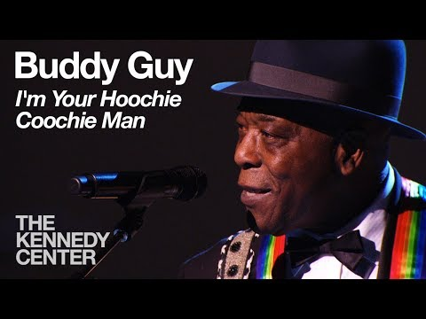 Buddy Guy - I'm Your Hoochie Coochie Man (Carlos Santana Tribute) - 2013 Kennedy Center Honors