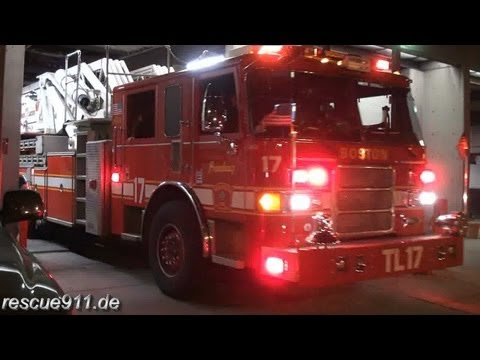 Tower ladder 17 Boston Fire Department