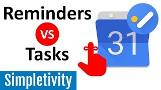 How to Use Tasks and Reminders in Google Calendar