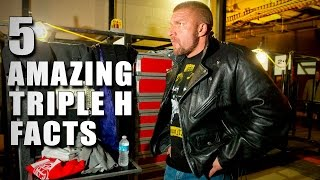5 things you didn't know about Triple H: 5 Things, June 11, 2015