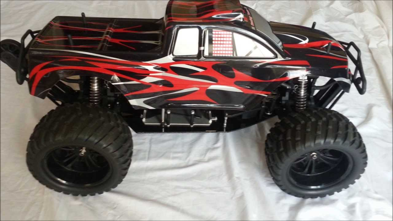 Monster Truck Scale Brushless Lipo Rc Car Video Of Car