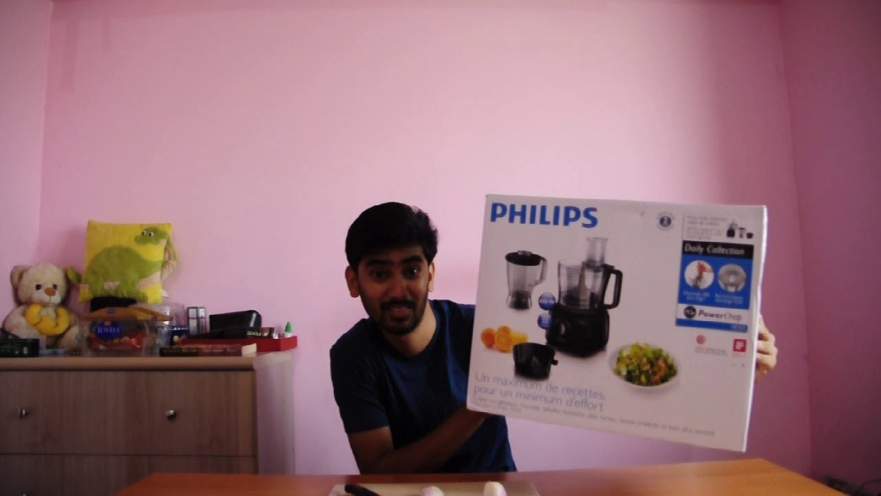 Philips Hr 7629 Food Processor Review Husband Version Youtube