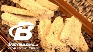 Healthy Recipes: Orange Almond Biscotti Cookies