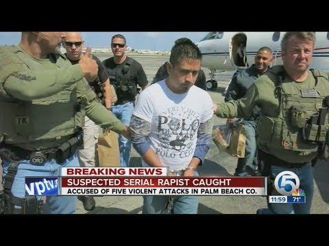 Serial Palm Beach Co. rape suspect arrested